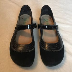 NAOT Sueded Mary Jane Shoes - Size 7 (38)